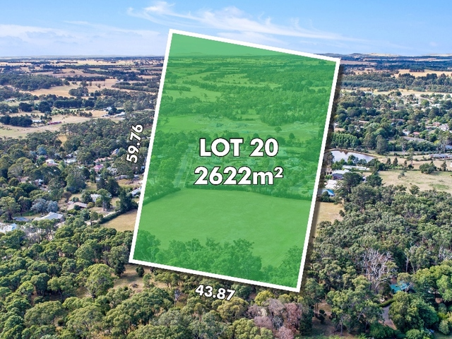 Lot 20 Clover Tree Circuit, Woodend VIC 3442
