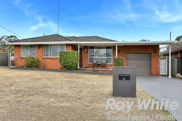 15 Carinda Drive, South Penrith NSW 2750