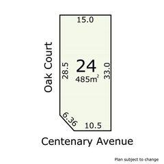 Lot 24 Centenary Avenue