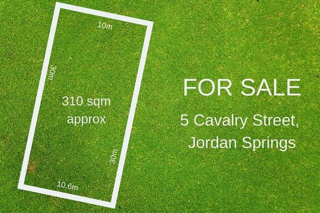 5 Cavalry Street, Jordan Springs NSW 2747