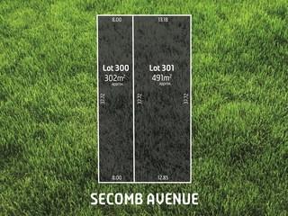 Lot 300,Lot 3... Secomb Avenue