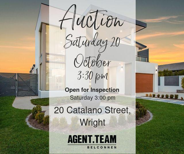 20 Catalano Street, Wright ACT 2611