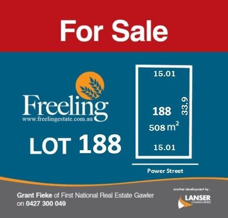 Lot 188 Power Street, Freeling SA 5372