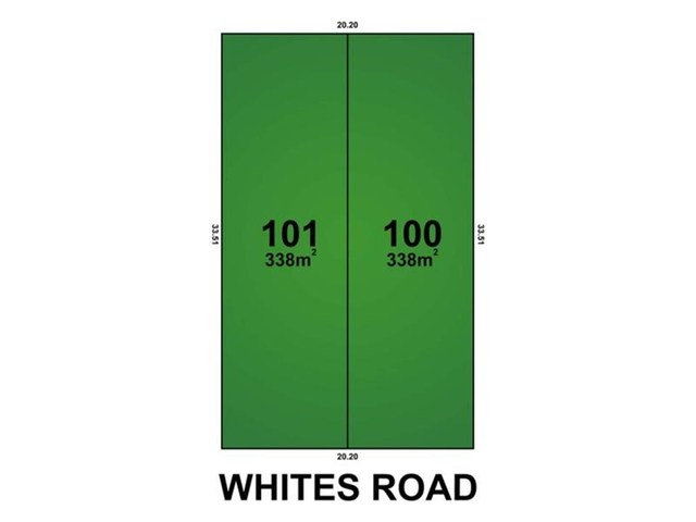 Lot 100 & 101/302 Whites Road, Paralowie SA 5108