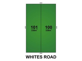 Lot 100 & 101... Whites Road