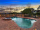 Large Solar Heated Pool with Spa