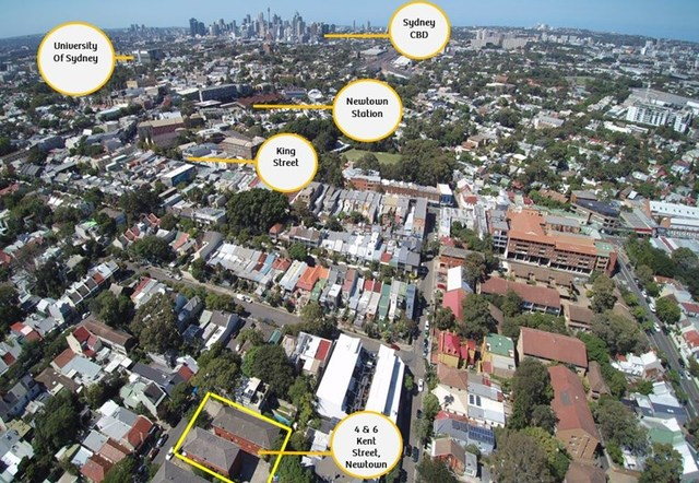 4 & 6 Kent Street, Newtown NSW 2042