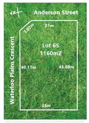 Lot 65/null Waterloo Plains Crescent