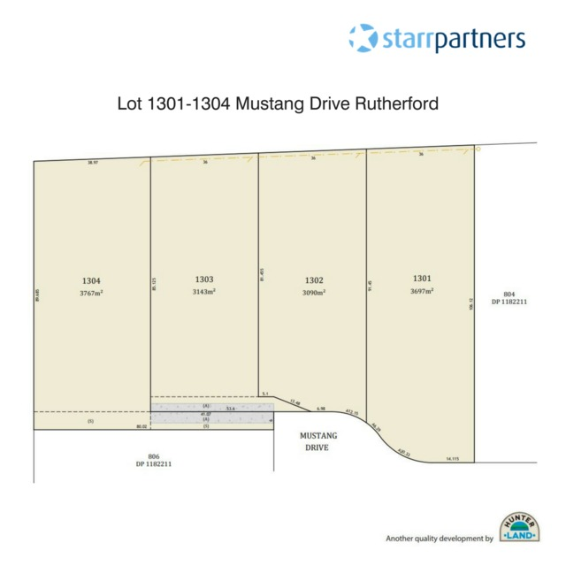 Lot 1303 Mustang Drive, Rutherford NSW 2320