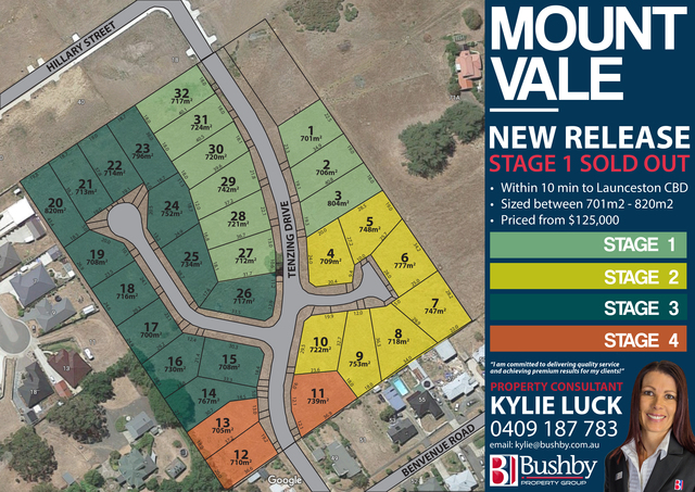 Lot 14 Mount Vale Estate - Tenzing Drive, St Leonards TAS 7250