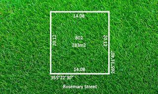 Lot 802 Rosemary Street