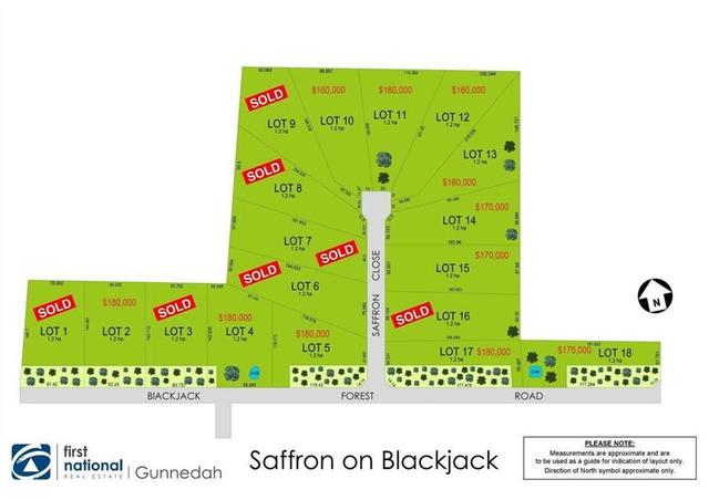 Lot 2,4,5,6,10,11 12 Saffron Estate, Gunnedah NSW 2380
