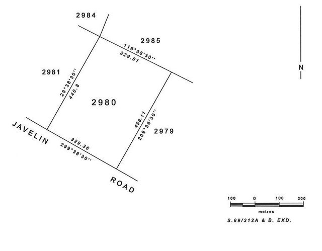 Section 2980 Javelin Road, NT 0840
