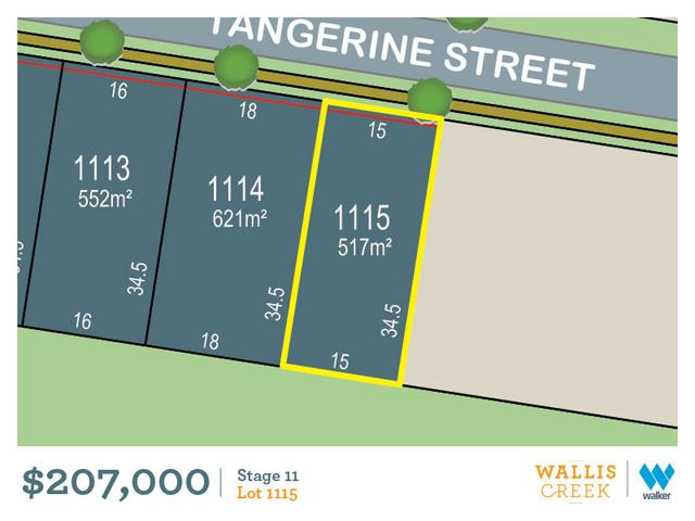 Lot 1115 Tangerine Street, Gillieston Heights NSW 2321