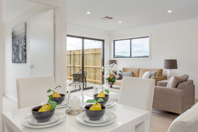 New display townhouse now open, example only