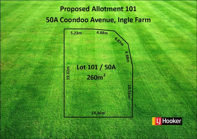 Lot Proposed 101/50A Coondoo Avenue, Ingle Farm SA 5098