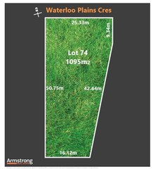 Lot 74/null Waterloo Plains Crescent