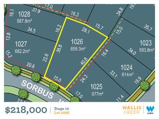 Lot 1026 Sorbus Way