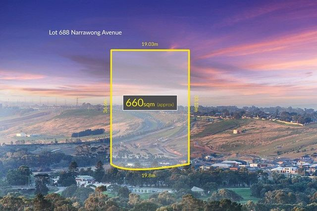 Lot 688 Narrawong Avenue, Highton VIC 3216